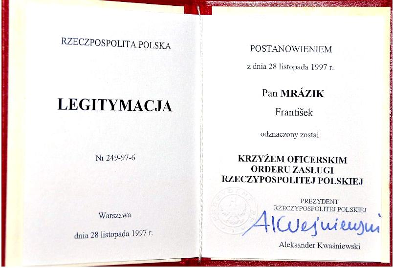"""FRANTIŠEK """"FERKO"""" MRÁZIK"""